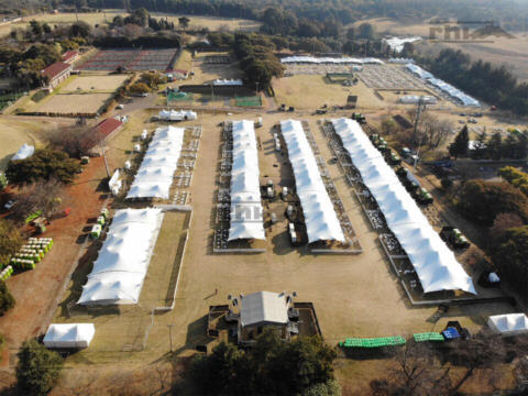 Nine Thousand Square Meters of Stretch Tents